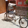 Old indian rickshaw - Stock Photo