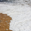 Waves of sea and beach — Stock Photo