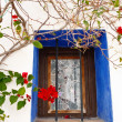 Stock Photo: MediterraneWindow with flowers