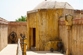 Moroccan street and house — Stock Photo