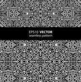 Black-white pattern_1 — Stock Vector
