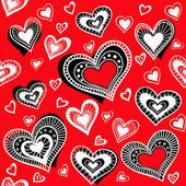 Pattern_Hearts_2 — Stock Vector