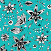 Floral seamless pattern_2 — Stock Vector