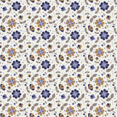 Seamless flower pattern_1 — Stock Vector