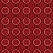 Terracotta pattern with rounds - 