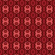 Terracotta pattern with rounds_1 - 