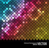 Абстрактный мозаика background_3 — Cтоковый вектор