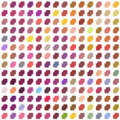Seamless mosaic pattern_4 — Stock Vector
