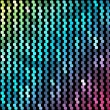 Abstract mosaic neon background_4 — Stock Vector