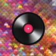 Music mosaic background — Stock Vector
