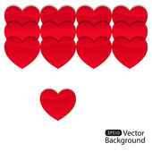 Background from hearts_3 — Vettoriale Stock