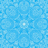 Ornamental round lace background_3 — Stockvektor