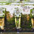 Stock Photo: Fountains at GoGajah Temple, Ubud, Bali, Indonesia.