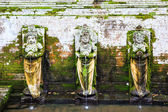 Fountains at Goa Gajah Temple, Ubud, Bali, Indonesia. — Stock Photo