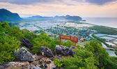 Khao Dang Viewpoint, Samroi yod national park, Thailand — Stock Photo