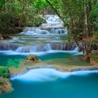 Deep forest Waterfall in Kanchanaburi, Thailand — Stock Photo #21281817