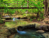 Erawan waterval, kanchanaburi, thailand — Stockfoto