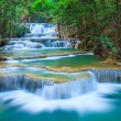 Deep forest Waterfall in Kanchanaburi, Thailand — Stock Photo #26705043