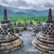 Borobudur Buddist temple Yogyakarta. Java, Indonesia — Stock Photo #26706031