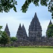 Prambanan. the biggest Hindu temple, Java, Indonesia — Stock Photo