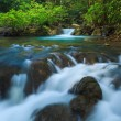Stock Photo: Deep forest Waterfall in Kanchanaburi, Thailand