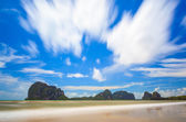 Pakmeng Beach,Trang, Southern of Thailand — Stock Photo