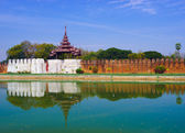 Mandalay palace, Mandalay, Myanmar — Stock Photo