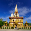 Wat Chalong temple Phuket, Thailand — Stock Photo