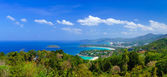 Bird eye view of Phuket, Thailand  — Stock Photo