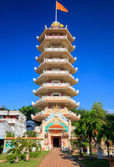 Chinese pagoda in Hatyai, Songkhla, Thailand — Stock Photo