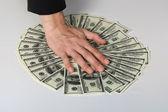 Money dollars wealth millionaire — Stock Photo