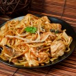 Royalty-Free Stock Photo: Chicken chow mein