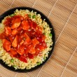 Sweet and sour chicken — Foto de Stock