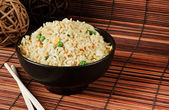 Egg fried rice — Stock Photo