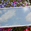 Foto Stock: Portable Photovoltaic Solar Panel