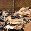 Fly tipping of refuse — Stock Photo