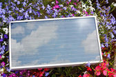 Portable Photovoltaic Solar Panel — Stock Photo