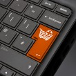 Add to Basket Return Key - Stock Photo