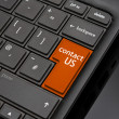 Contact us Return Key — Stock Photo