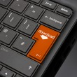 Stock Photo: Download Return Key