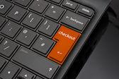 Checkout Return Key — Stock Photo