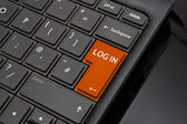 Log in Return Key — Foto de Stock