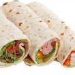 ������, ������: Buffet of sandwich wrap
