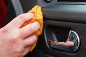 Nettoyage de la voiture — Photo