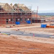 New housing estate construction site — Stock Photo #19170633