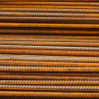 Reinforcing steel bars or rebar background — Stock Photo #19856267
