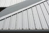 Kovové střechy pozadí — Stock fotografie