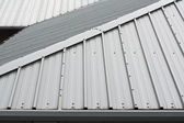 Metal roof background — Stockfoto