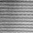 Steel rope background - Stock Photo