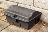 Enclosed Rat trap safety poison — Stockfoto